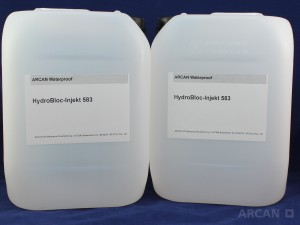 ARCAN BAuchemie  Abdichtung » Injektionssysteme » PUR » HydroBloc®-Injekt 583