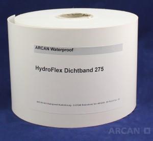 Arcan Bauchemie Abdichtung » Folienabdichtung  Hydroflex dichtband 275 weiß