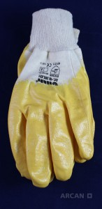 ARCAN Bauchemie, Abdichtung, Arbeitsschutz, Handschuhe, Nitril, zum Schutz gegen PU, Epoxydharze, Verschmutzung