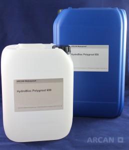 Abdichtung » Injektionssysteme » PUR Gel » HydroBloc® Polygrout-650 – Polyurethan Gel für Hinterlegungsinjektionen (25 kg)