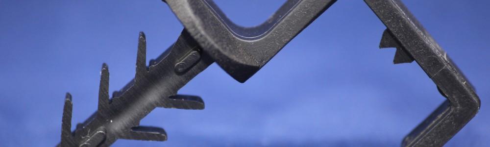 ARCAN-Bauchemie-Abdichtung » Fugenabdichtung » Injektionsschlauch » Montageschelle 415 faserverstärkte Kunststoffschelle