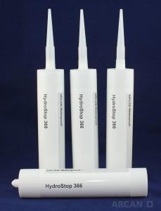 ARCAN-Bauchemie-Abdichtung-Flächenabdichtung-HydroStop-366-Kartusche-Dichtungsmasse