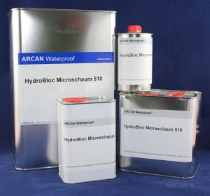 ARCAN-BauchemieAbdichtung-Injektionssysteme -PUR-Schaum-HydroBloc-Microschaum-510