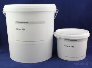 ARCAN Bauchemie  Abdichtung » Folienabdichtung Silipox 826