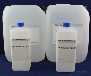 ARCAN Bauchemie Abdichtung » Injektionssysteme » PUR Harze » Hydrobloc PU 500