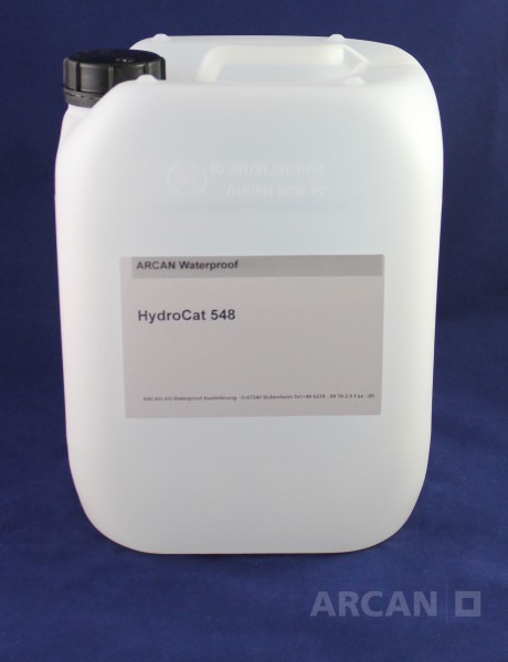 ARCAN BAuchemie Abdichtung » Injektionssysteme » Acrylat Gel » HydroCat 548 – Beschleuniger für das Acrylat Gel HydroBloc Polygel 530 (10 kg)