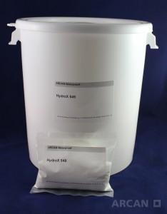 ARCAN Bauchemie Abdichtung » Injektionssysteme » Acrylat Gel » HydroX 549 – Reaktionsstarter für das Acrylat Gel HydroBloc Polygel 530 (0,5kg)